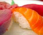 Oily fish: salmon and tuna