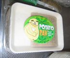 The potato plate product.