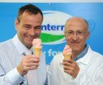Dr Jeremy Hill and LactoPharma give ReCharge ice cream the taste test.
